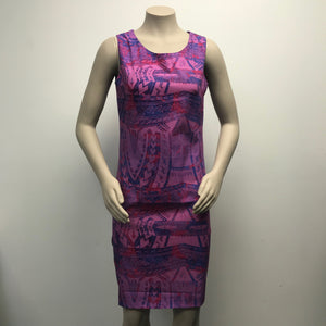 LD879 Women's Dress Purple