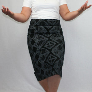 Sialei Siapo Skirt- LS480-TS/ Black Magic