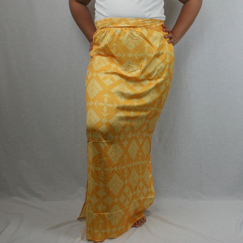 Sialei Taimane Skirt- LS474-TS/ Yellow