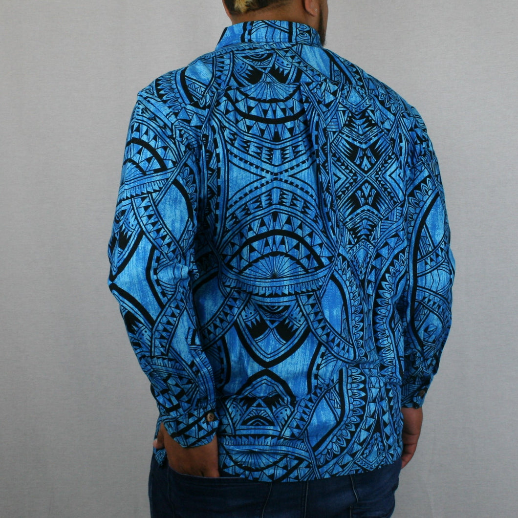 Mens L/S Shirt - SL955 -TS SKY BLUE