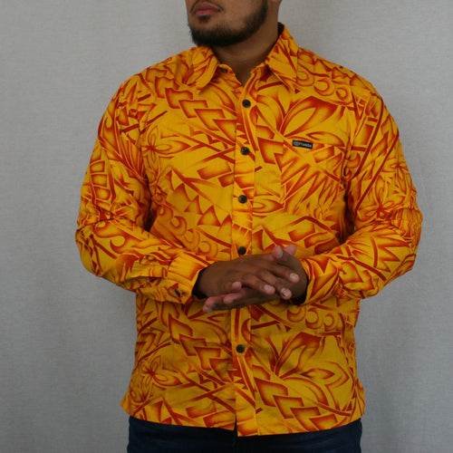 Mens L/S Shirt - SL957 -TS GOLD