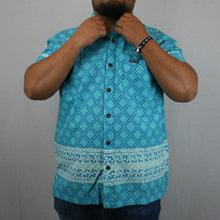 Mens Cotton Shirt / FB261 Blue