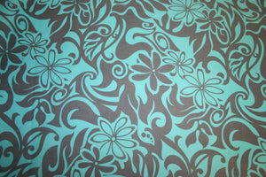 Blue Pua Fabric