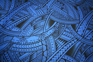Dark Blue Va'afaila Fabric