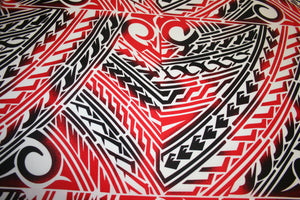 Blood Red Sogaimiti Fabric