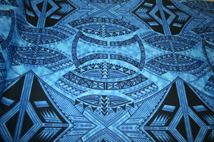 Dark Blue Malu Fabric