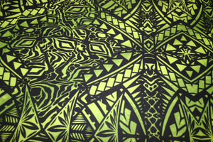 Green Butterfly Wings Fabric