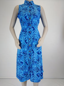 Ladies Tahu Dress LD1524 Blue