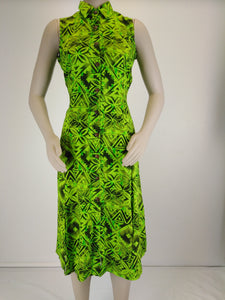 Ladies TAHU Dress LD1524 Lime