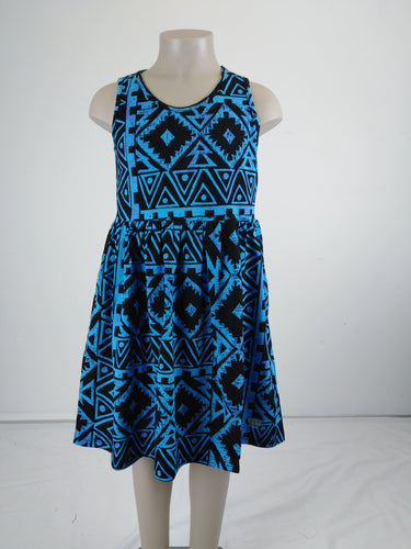 Sialei Girls Fantasy Dress LG1147 Blue