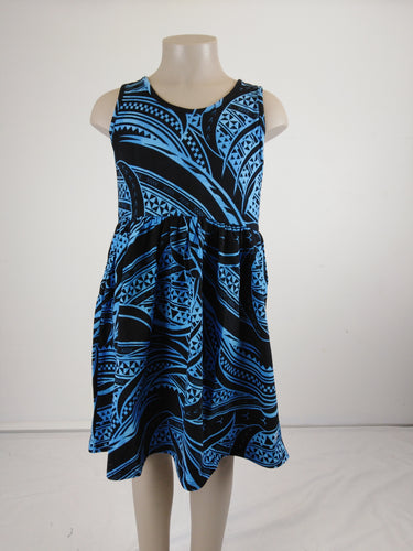 Sialei Girls Fantasy Dress LG1149 Blue