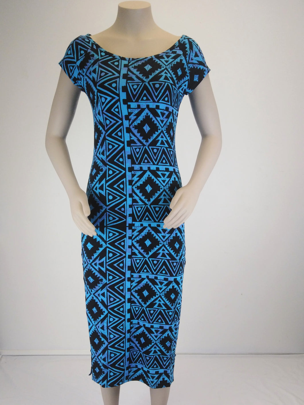 LD1610 /Sialei Ladies Dress/ BLUE