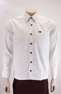 Men's Shirt L/ SL1222 WHITE