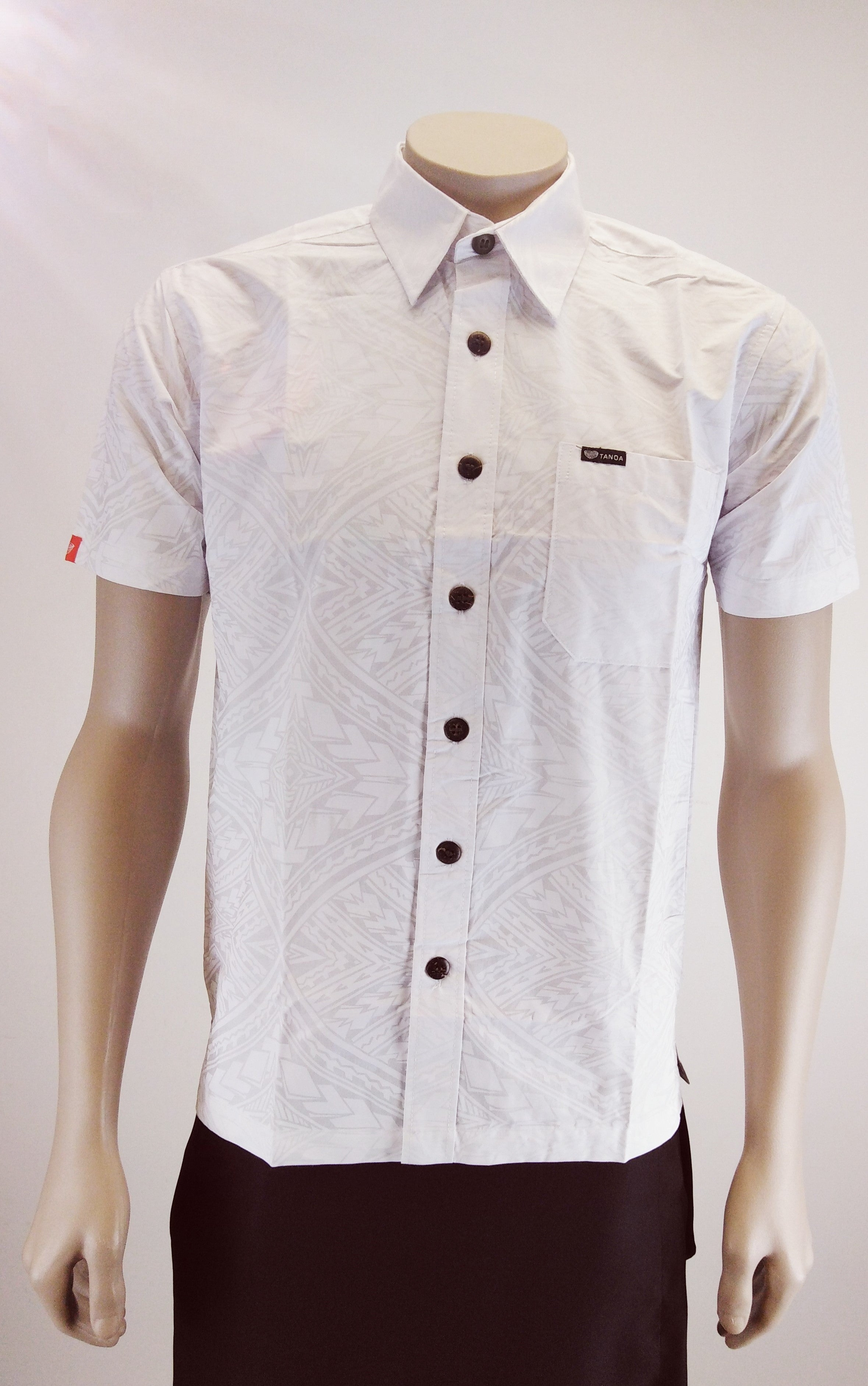Men's Shirt SS2198 White