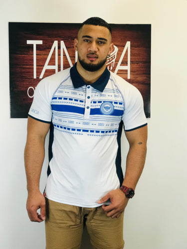 Tanoa Sublimated Polo Shirt - PM392 White
