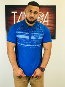 Tanoa Sublimated Polo Shirt - PM392 Royal