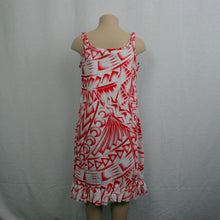 Girls Flare Mumu Dress/ LG623- TS White Red