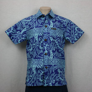 Dobby Shirt- BLUE/ SB509-TS