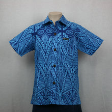 BoYS Dobby Shirt- SB512/Blue