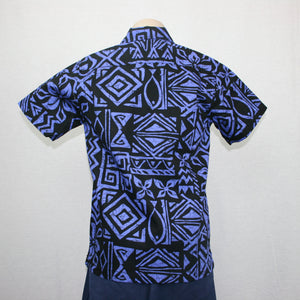 Boys JS Bula Shirts/ SB551- Purple Black