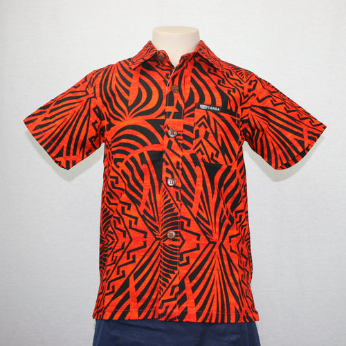 Boys JS Bula Shirts/ SB552- TS Orange