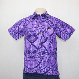 Boys JS Bula Shirts/ SB550- TS Purple