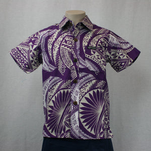 Boys Cotton Shirt SB503-TS/ Purple