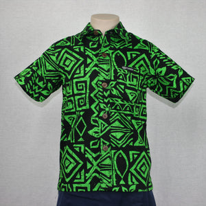 Boys JS Bula Shirts/ SB551- Green