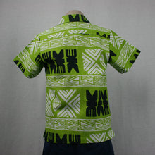 Boys Dobby Shirt/SB505-TS Lime