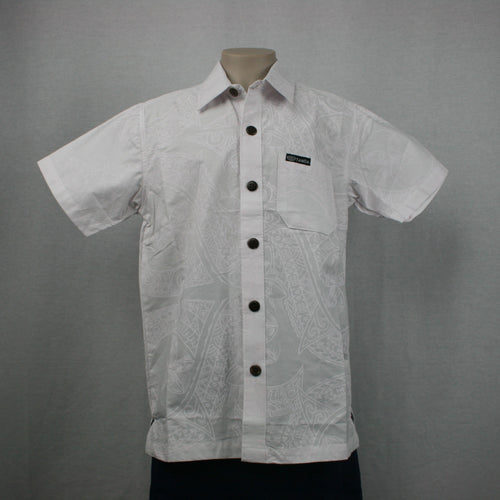Boys Cotton Shirts/ SB501- TS White