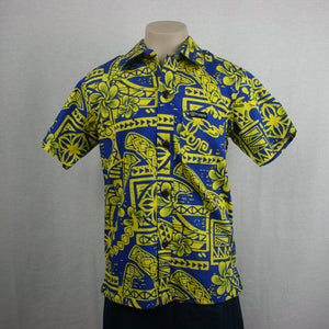 BOYS BULA SHIRT SB518-TS/YELLOW