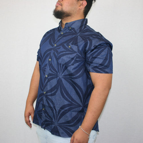 Men's Chambray Shirt- SS1290/ Denim