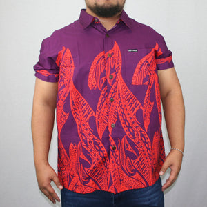 TS MENS COTTON SHIRT ORCHID- SS1233