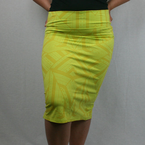 Sialei Feto Skirt- LS471-TS/ Yellow