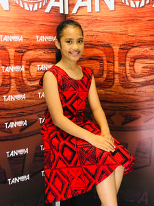 Girl's  Dress LG1031 Red