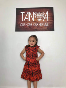 Girls Dress LG901 - Orange