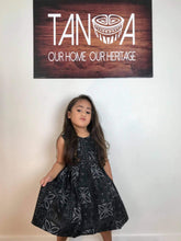 LG1014 Girls Dress Black
