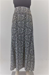 Ladies Maxi Skirt Tapa - LMS002 - Off White