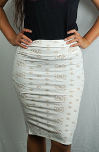 Malu Skirts- L5478-TS/ White