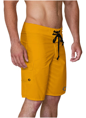 Orange Charge Harder Board Shorts