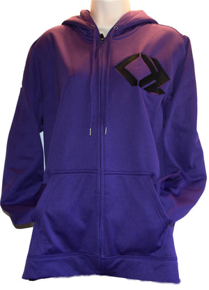 Charge Harder Women's Zip Hoodie