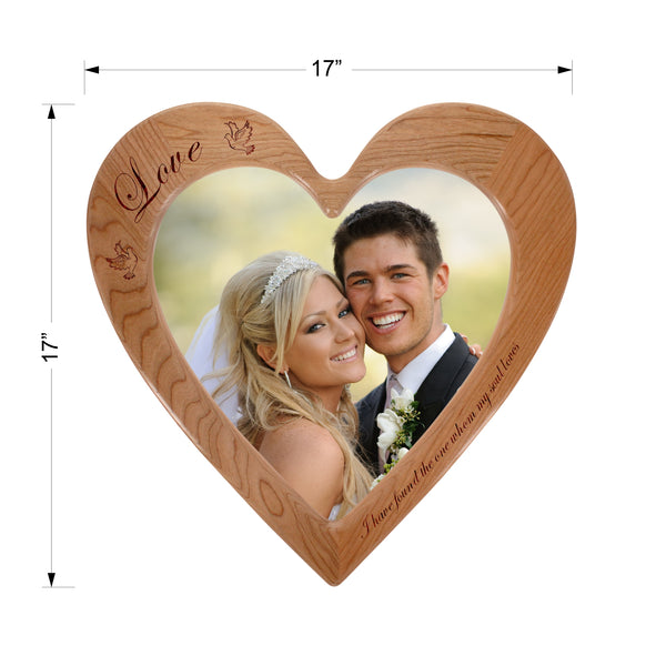 """Love"" - Engraved Photo Frame"