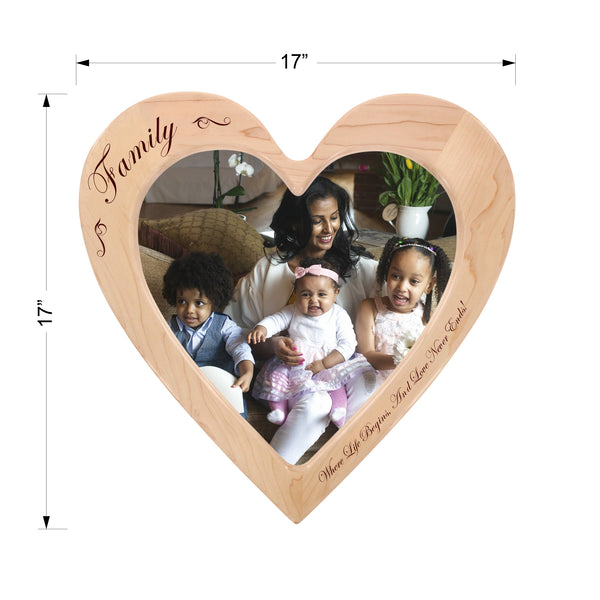 """Family"" - Engraved Photo Frame"