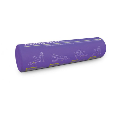 "BODYWORX 4ASA448P PURPLE TRAINING FOAM ROLLERS (24"")"