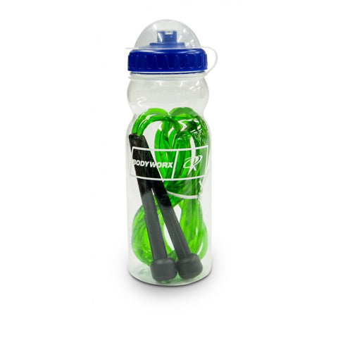 BODYWORX 4ASL902 SKIPPING ROPE IN A WATER BOTTLE