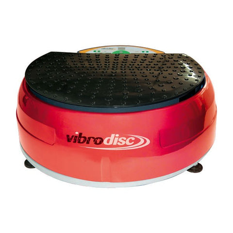 Vibrodisc Vibration Machine (Wine red/Burgundy)
