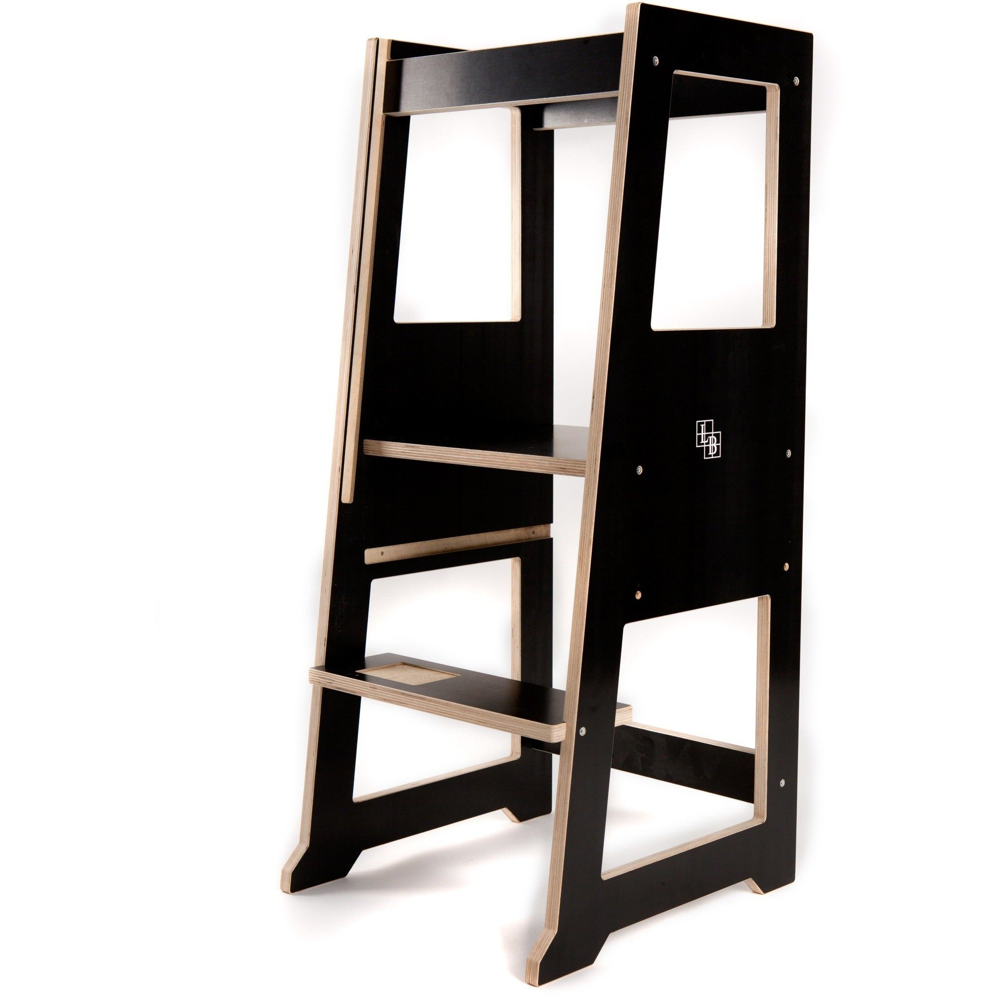 Slimline Learning Tower Black