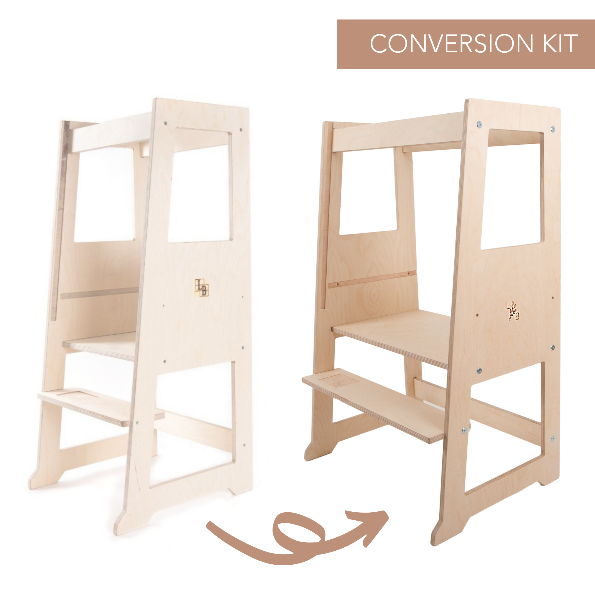 Single to Double Learning Tower Conversion Kit