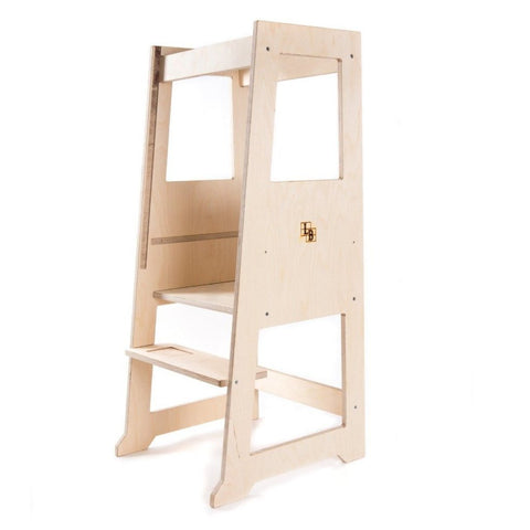 Slimline Learning Tower in Premium Birch