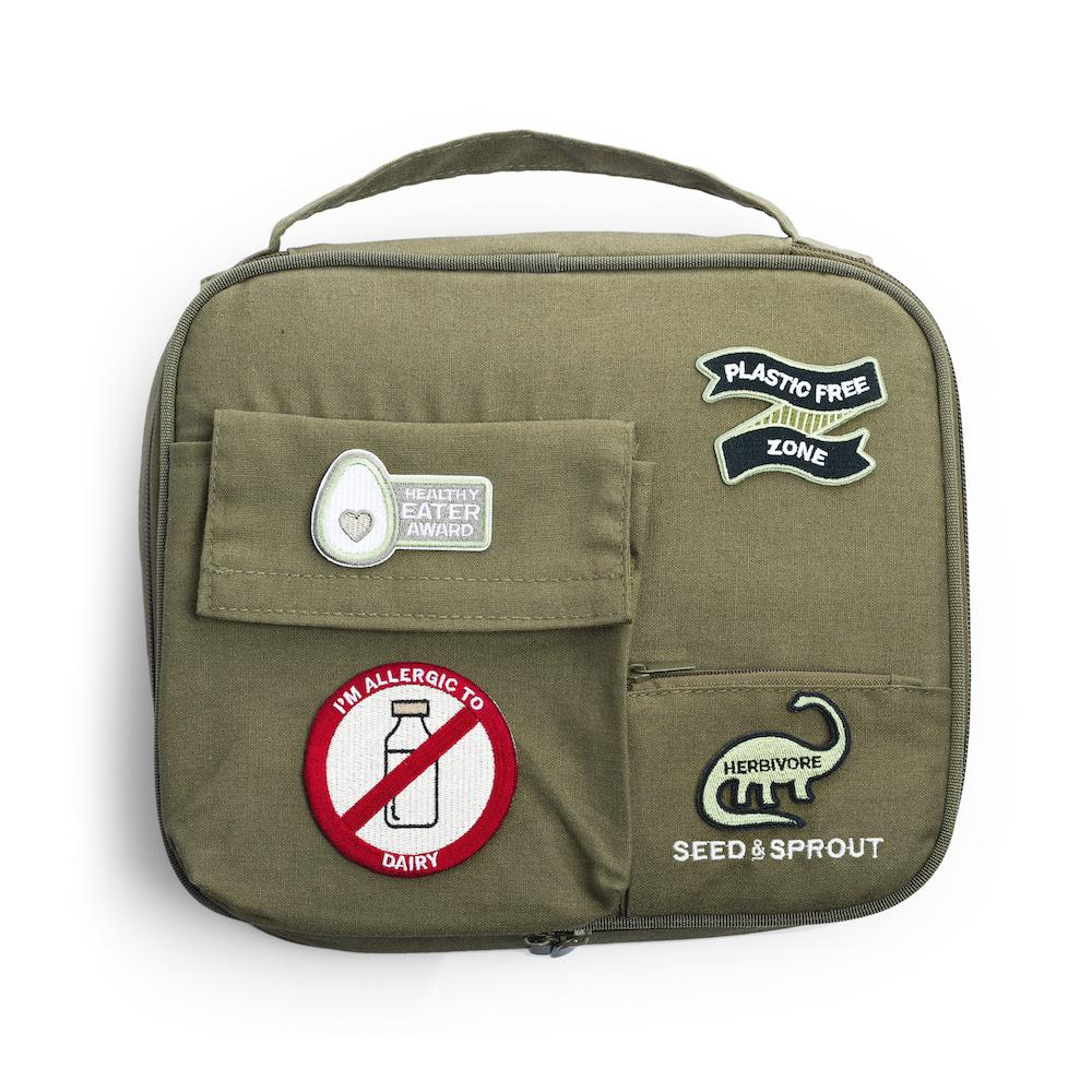 Hemp Fibre Insulated Lunchbox Case - CrunchCase™